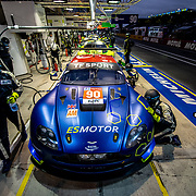 Teams and drivers take part in qualifying sessions for the 86th running of the 24 Hours of Le Mans at the Circuit de la Sarthe in France.