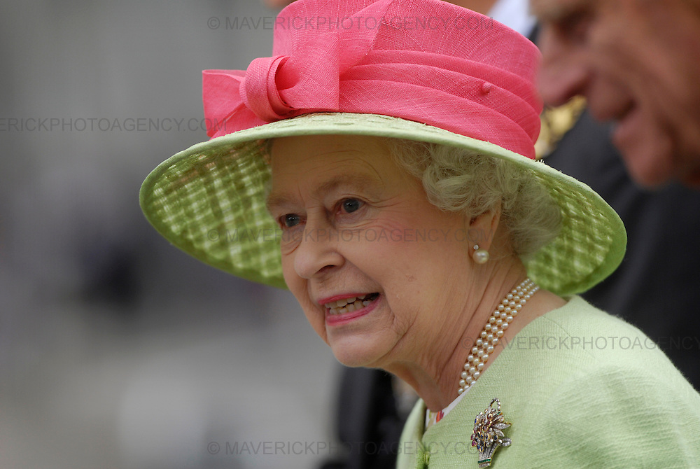 Saturday 30th June 2007.  The Scottish Parliament was officially opened today by Her Majesty The Queen. Pictured Her Royal Highness Queen Elizabeth II.