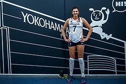 03-10-2018 JPN: World Championship Volleyball Women day 6, Yokohama<br /> Netherlands - Mexico 3-0 / Juliet Lohuis #7 of Netherlands