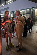 GRAYSON PERRY; SANDY NAIRNE, The £100,000 Art Fund Prize for the Museum of the Year,   Tate Modern, London. 1 July 2015
