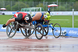 06/08/2017; Malter, Ludwig, T54, AUT, Jimenez-Vergara, Miguel, USA at 2017 World Para Athletics Junior Championships, Nottwil, Switzerland