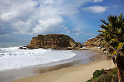 Three Arch Bay Private Beach in Laguna Beach California
