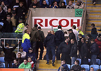 Photo: Rich Eaton.<br /> <br /> Coventry City v Bristol City. The FA Cup. 16/01/2007. Some Coventry fans leave after 80 minutes as their side are losing 2-0 at home