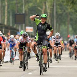30-08-2017: Wielrennen: Boels Ladies Tour: Arnhem<br /> Kirsten Wild is de sterkste in de massasprint in Arnhem