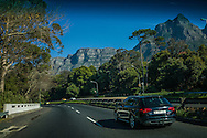 The good life in Cape Town under the towering cliffs of Table Mountain.  South Africa.