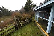 Cabin at Kalaloch Lodge, Kalaloch, Olympic National Park, Washington, US