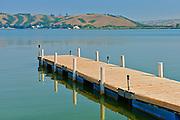 Dock on Pasqua Lake <br />Echo Valley Provincial Park<br />Saskatchewan<br />Canada