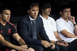 September 19, 2018 - Madrid, Spain - Real Madrid coach Julen Lopetegui during UEFA Champions League match between Real Madrid and A.S.Roma at Santiago Bernabeu Stadium in Madrid, Spain. September 19, 2018. (Credit Image: © Coolmedia/NurPhoto/ZUMA Press)