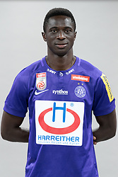 16.07.2019, Generali Arena, Wien, AUT, 1. FBL, FK Austria Wien, Fototermin, im Bild Lamine Maudo Jarjue // Lamine Maudo Jarjue during the official team and portrait photoshooting of tipico Bundesliga Club FK Austria Wien for the upcoming Season at the Generali Arena in Vienna, Austria on 2019/07/16. EXPA Pictures © 2019, PhotoCredit: EXPA/ Florian Schroetter