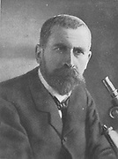 (Pierre-Paul) Emile Roux (1853-1933) French bacteriologist, assistant to Louis Pasteur.  In 1894, with Yersin, discovered the non-toxic treatment for Diptheria.
