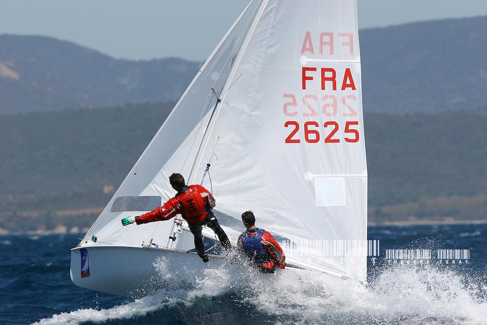 Semaine Olympique de Hyères 2005.