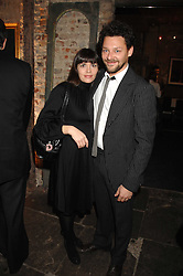 Actor RICHARD COYLE and his wife GEORGIA at a reception to Discover Wilton's Music Hall held at the hall in Graces Alley, London E1 on 5th December 2007.<br /><br />NON EXCLUSIVE - WORLD RIGHTS