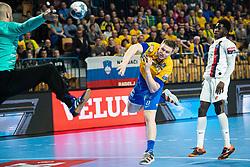 Horzen Kristjan of RK Celje Pivovarna Lasko during handball match between RK Celje Pivovarna Lasko (SLO) and Paris Saint-Germain HB (FRA) in 11th Round of EHF Champions League 2019/20, on 9 February, 2020 in Arena Zlatorog, Celje, Slovenia. Photo Grega Valancic / Sportida
