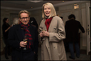 JOHN SWANNELL; MARAINNE SWANNELL, Fortnum and Mason and Quartet books host a celebration for the publication of  The White Umbrella by Brian Sewell. Illustrated by Sally Ann Lasson. Fortnum and Mason. Piccadilly. London. 3 March 2015.