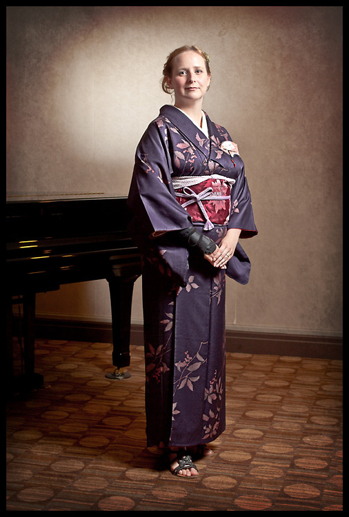 Convention portrait series. On location in Kyoto, Japan.