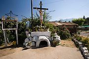 Shrine in Pomaire, a pottery village near Santiago, Chile