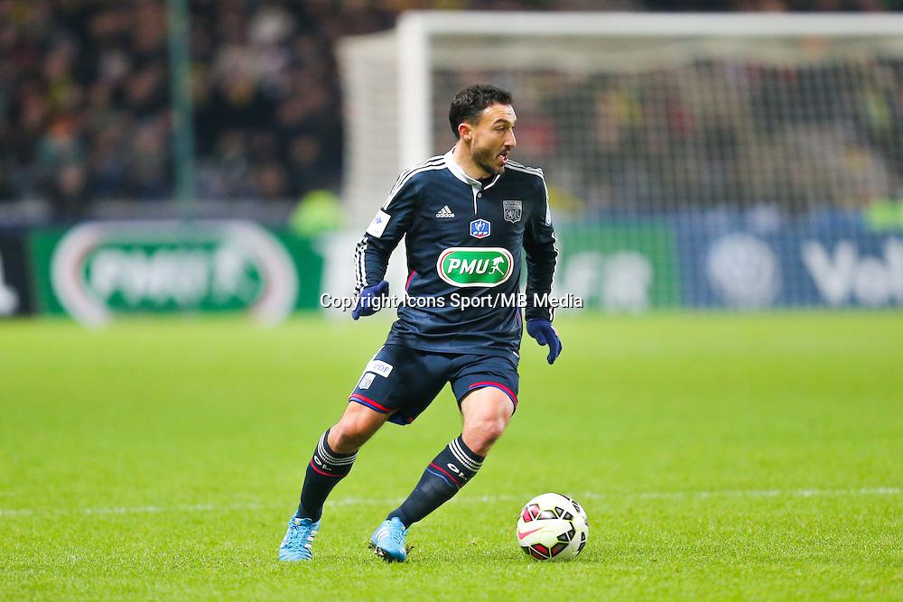 Steed MALBRANQUE  - 20.01.2015 - Nantes / Lyon  - Coupe de France 2014/2015<br /> Photo : Vincent Michel / Icon Sport