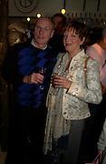 Jamie and Maureen Williamson ( Matthew's parents ) . Matthew Williamson perfume launch. Fifth Floor, Harvey Nichols. ONE TIME USE ONLY - DO NOT ARCHIVE  © Copyright Photograph by Dafydd Jones 66 Stockwell Park Rd. London SW9 0DA Tel 020 7733 0108 www.dafjones.com