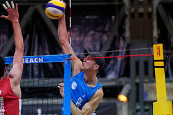 04-01-2020 NED: NK Beach volleyball Indoor, Aalsmeer<br /> Steven van de Velde