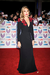 Ayda Field arrives at the Daily Mirror Pride of Britain Awards 2018, at the Grosvenor Hotel, London.  Picture date: Monday 29th October 2018.  Photo credit should read:  David Jensen/ EMPICS Entertainment