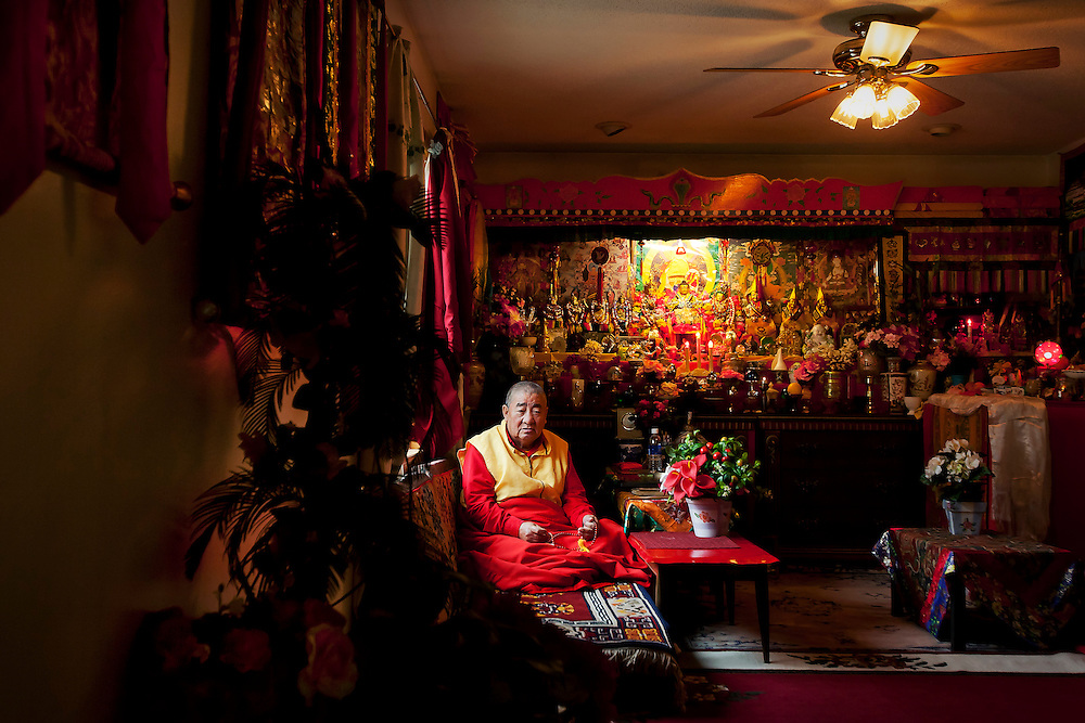 Not long ago, Thupten Lama's goal, as a frail and elderly Ph.D of Tibetan Buddhism, was to become a U.S. citizen before he died so that he may be reincarnated as a U.S. citizen in his next life. The monk, who holds the same level of theological education as the Dalai Lama, fled from China to India, following his spiritual leader into exile. But in India his home was firebombed because he would not stop worshipping Dorje Shugden, a deity in the Tibetan Buddhist pantheon outlawed by religious authorities. Viewing the ban on worship of Dorje Shugden as a political matter, he continued to follow the practice, a stance that made living in the Tibetan community in India unsafe. To preserve his religious freedom, he moved with his family to Minnesota, where he is safe, happy, and a citizen.