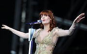 24.JUNE.2012. LONDON<br /> <br /> FLORENCE AND THE MACHINE PERFORM ON STAGE AT THE 2012 HACKNEY WEEKEND IN EAST LONDON.<br /> <br /> BYLINE: EDBIMAGEARCHIVE.CO.UK<br /> <br /> *THIS IMAGE IS STRICTLY FOR UK NEWSPAPERS AND MAGAZINES ONLY*<br /> *FOR WORLD WIDE SALES AND WEB USE PLEASE CONTACT EDBIMAGEARCHIVE - 0208 954 5968*