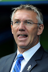 Reading Manager, Nigel Adkins - Photo mandatory by-line: Alex James/JMP - Mobile: 07966 386802 - 18/10/2014 - SPORT - Football - Reading - Madejski Stadium - Reading v Derby County - Sky Bet Championship