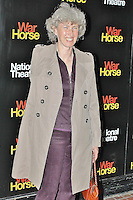 LONDON - October 25: Deborah Criddle at the War Horse 5th Anniversary Performance (Photo by Brett D. Cove)