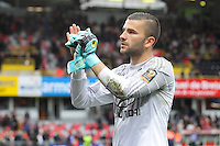 Joie LYON - Anthony LOPES - 04.04.2015 - Guingamp / Lyon - 31eme journee de Ligue 1<br />