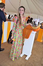 BRYONY DANIELS at the 2012 Veuve Clicquot Gold Cup Final at Cowdray Park, Midhurst, West Sussex on 15th July 2012.