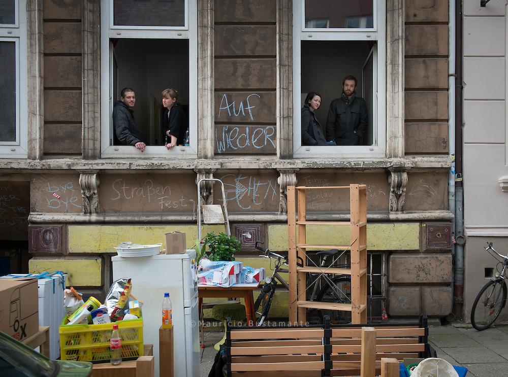 Zwangsräumung am Woltmanstraße 20, Hamburg-Mitte
