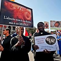 Marcia per la vita contro l'aborto