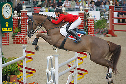 Crotta Clarissa (SUI) - Westside vd Meerputhoeve<br /> European Championship Jumping Windsor 2009<br /> Photo © Hippo Foto - Dirk Caremans