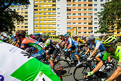 Francesco Manuel Bongiorno (ITA) of Neri Sottoli Selle Italia KTM, Kristian Sbaragli (ITA) of Israel Cycling Academy and cyclists during 2nd Stage of 26th Tour of Slovenia 2019 cycling race between Maribor and  Celje (146,3 km), on June 20, 2019 in Celje, Maribor, Slovenia. Photo by Vid Ponikvar / Sportida
