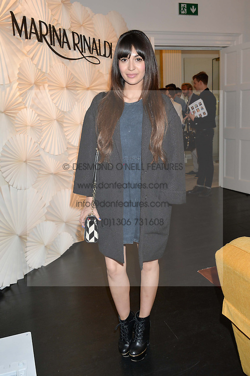 ZARA MARTIN at the launch of the new Marina Rinaldi flagship store at 5 Albemarle Street, London on 3rd July 2014.