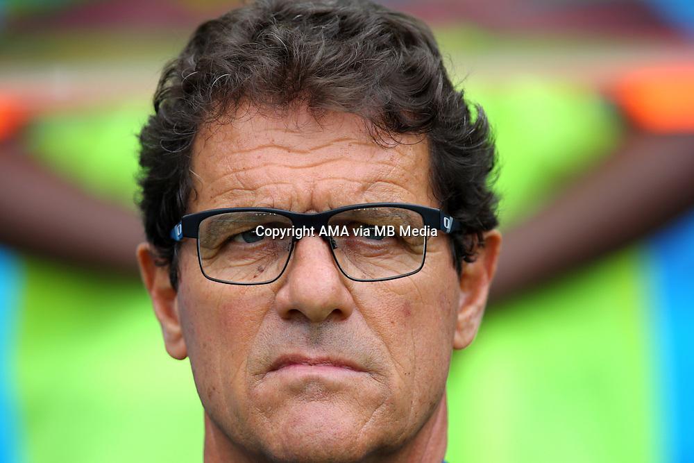 Russia manager / head coach Fabio Capello