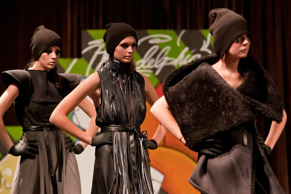 Models from Wilhelmina Models wearing S-Love walk the runway at the 2009 Philadelphia Fashion Week.