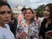 VICTORIA BECKHAM; ALEX SHULMAN; NIGELLA LAWSON, Alex Shulman goodbye party. Dock Kitchen, Ladbroke Grove. London. 22 June 2017