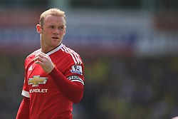 Wayne Rooney of Manchester United - Mandatory by-line: Jack Phillips/JMP - 07/05/2016 - FOOTBALL - Carrow Road - Norwich, England - Norwich City v Manchester United - Barclays Premier League