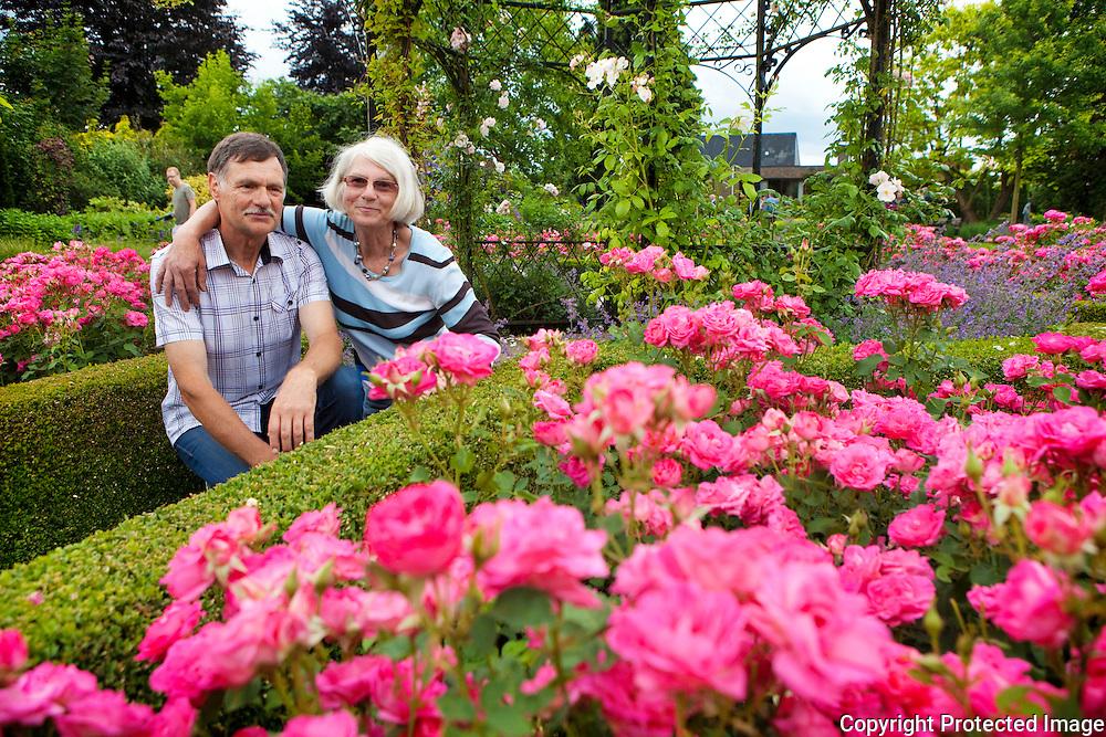 """357647-Griet Mertens & Michel Van Mellaerts - Winnaar """" Mooiste Tuin Van België """" - Taxandriastraat 4 Oevel (Westerlo)"""