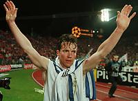 Fotball<br /> Bayern München<br /> Foto: Witters/Digitalsport<br /> NORWAY ONLY<br /> <br /> MATTHÄUS, Lothar - nach dem Spiel<br />  FC Bayern München - Dynamo Kiev    1:0<br /> Champions League Halbfinale, Rückspiel<br /> 1999