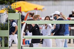 Ehning Markus, GER, Sprunger Janika, SUI, von Eckermann Henrik, SWE<br /> CSI 3* Grand Prix Azelhof - Lier 2020<br /> © Hippo Foto - Dirk Caremans<br /> 26/07/2020