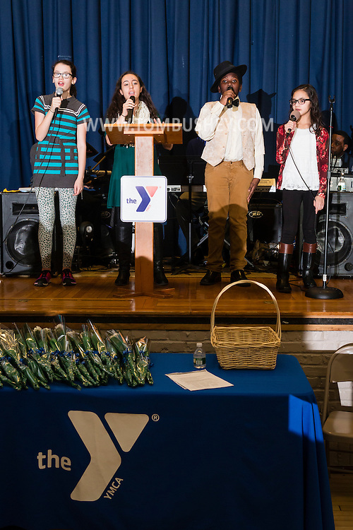 Middletown, New York - The YMCA of Middletown helds its annual meeting at the Center for Youth Programs on Feb. 9. 2016.
