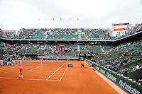 illustration court central vide  - 26.05.2015 - Jour 3 - Roland Garros 2015<br />Photo : Nolwenn Le Gouic / Icon Sport