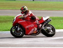 GIANCARLO FALAPPA RAYMOND ROCHE DUCATI, WSB World Superbike Championship Donington Park 3rd October  1993