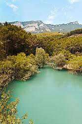 Yesa Reservoir in the Pyrenees in the province of Aragon.<br /> <br /> (c) Andrew Wilson | Edinburgh Elite media
