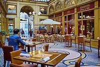 France, Paris (75), Galerie Vivienne // France, Paris, Vivienne galerie