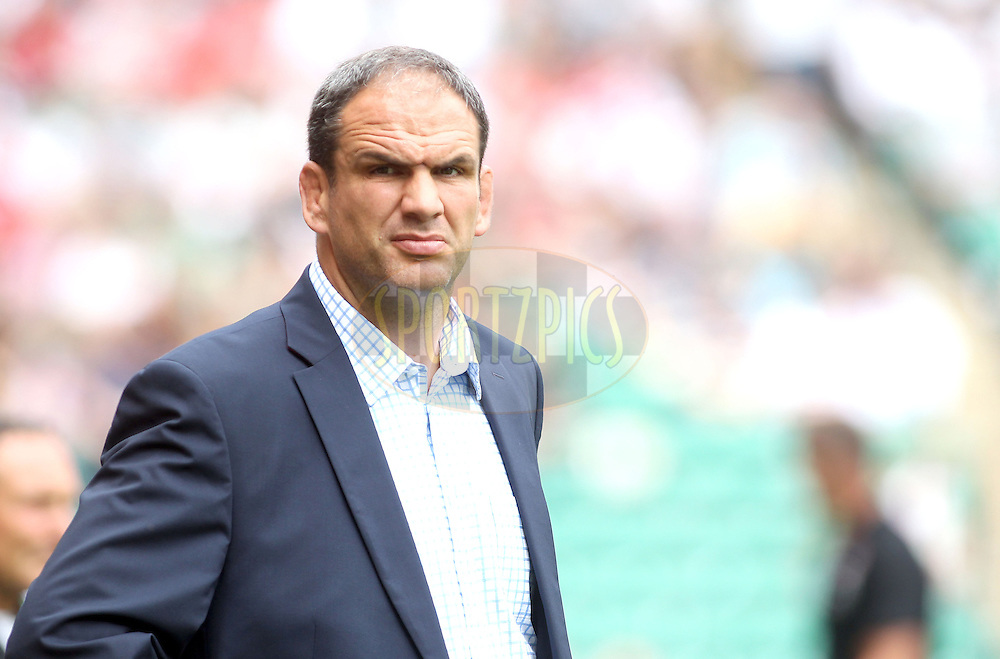 © Andrew Fosker / Seconds Left Images 2011 - England Manager Martin Johnson - England v Wales  - Investec International - 06/08/2011 - Twickenham Stadium  - London - All rights reserved..