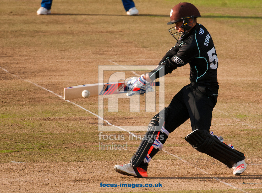 Sam Curran of Surrey CCC  during the Royal London One Day Cup Final match at Lord's, London<br /> Picture by Jack Megaw/Focus Images Ltd +44 7481 764811<br /> 19/09/2015