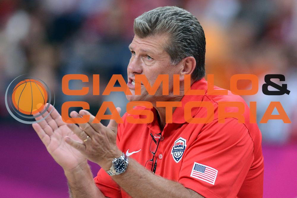 DESCRIZIONE : London Londra Olympic Games Olimpiadi 2012 Women Preliminary Round USA Croatia Usa Croazia<br /> GIOCATORE : Geno Auriemma<br /> CATEGORIA : Coach Ritratto<br /> SQUADRA : Usa<br /> EVENTO : Olympic Games Olimpiadi 2012<br /> GARA : USA Croatia Usa Croazia<br /> DATA : 28/07/2012 <br /> SPORT : Pallacanestro <br /> AUTORE : Agenzia Ciamillo-Castoria/GiulioCiamillo<br /> Galleria : London Londra Olympic Games Olimpiadi 2012 <br /> Fotonotizia : London Londra Olympic Games Olimpiadi 2012 Women Preliminary Round USA Croatia Usa Croazia<br /> Predefinita :